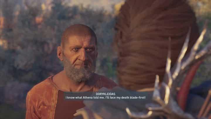 Как только вы перестанете смотреть на объекты, на вас нападет человек - Божественное вмешательство - Побочные задания в Assassins Creed Odyssey - Дополнительные задания в бесплатном DLC - Руководство по Assassins Creed Odyssey