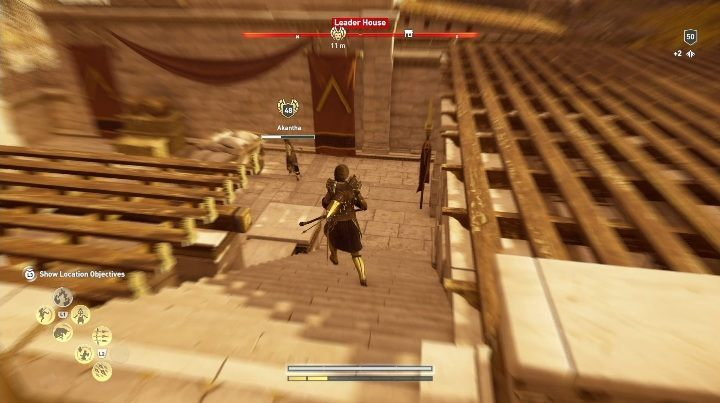 Once you have a clue, go to the Leaders House - Order of Hunters - assassinations in the Legacy of the first blade DLC - Order of the Ancients - Assassins Creed Odyssey Guide