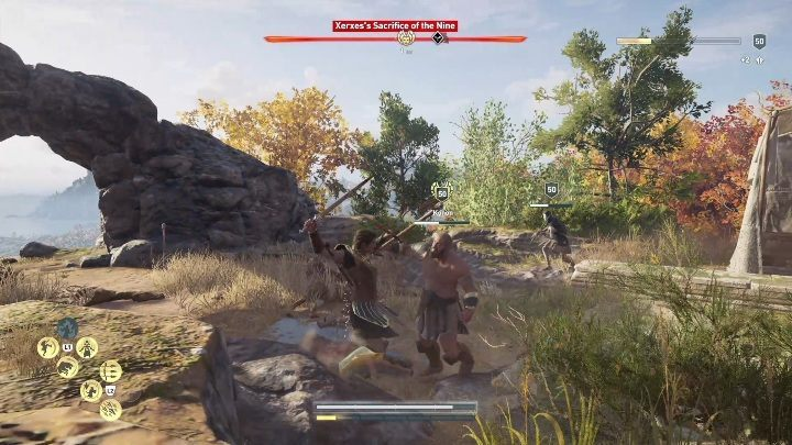 This opponent has a companion guard around him and several animals at his disposal - Order of Hunters - assassinations in the Legacy of the first blade DLC - Order of the Ancients - Assassins Creed Odyssey Guide