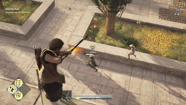 Take the animal pelts to the merchant - Order of Hunters - assassinations in the Legacy of the first blade DLC - Order of the Ancients - Assassins Creed Odyssey Guide