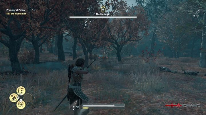 It would be best if you fight this enemy with a melee weapon - Order of Hunters - assassinations in the Legacy of the first blade DLC - Order of the Ancients - Assassins Creed Odyssey Guide